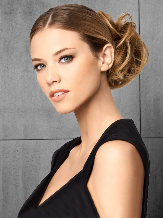 modern chignon by hairdo clip in hair piece easi wigs. Black Bedroom Furniture Sets. Home Design Ideas