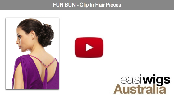 Fun Bun Hair Piece Fun Bun Clip in Hair Pieces