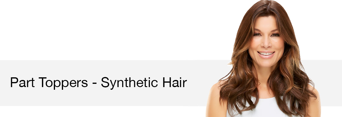 Part Toppers - Synthetic Hair