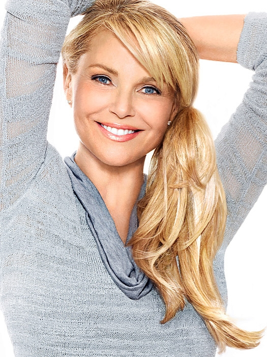 The Pony Christie Brinkley Hair2wear Ponytail Hair Extensions 12